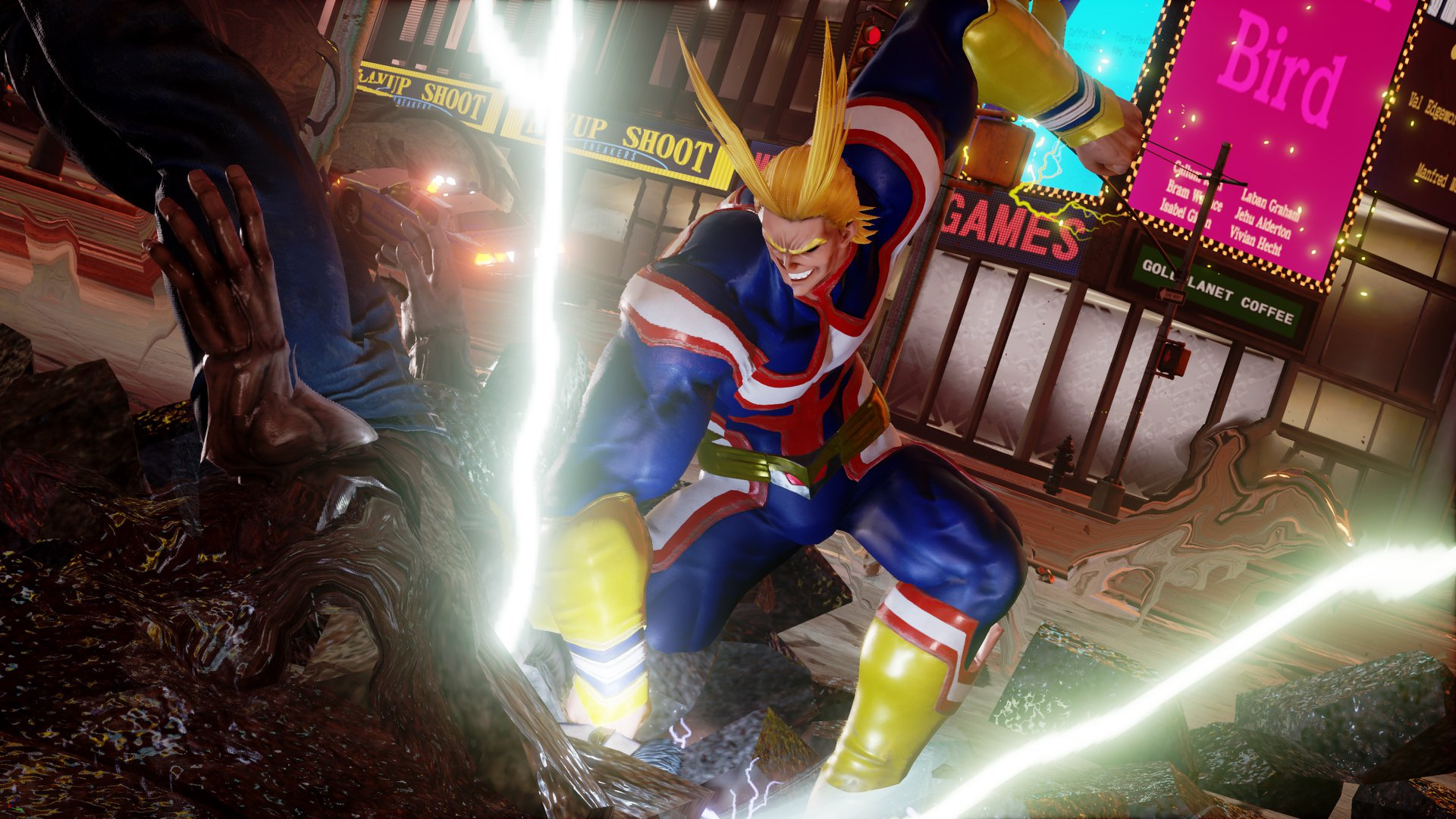 Jump Force All Might Screen 1