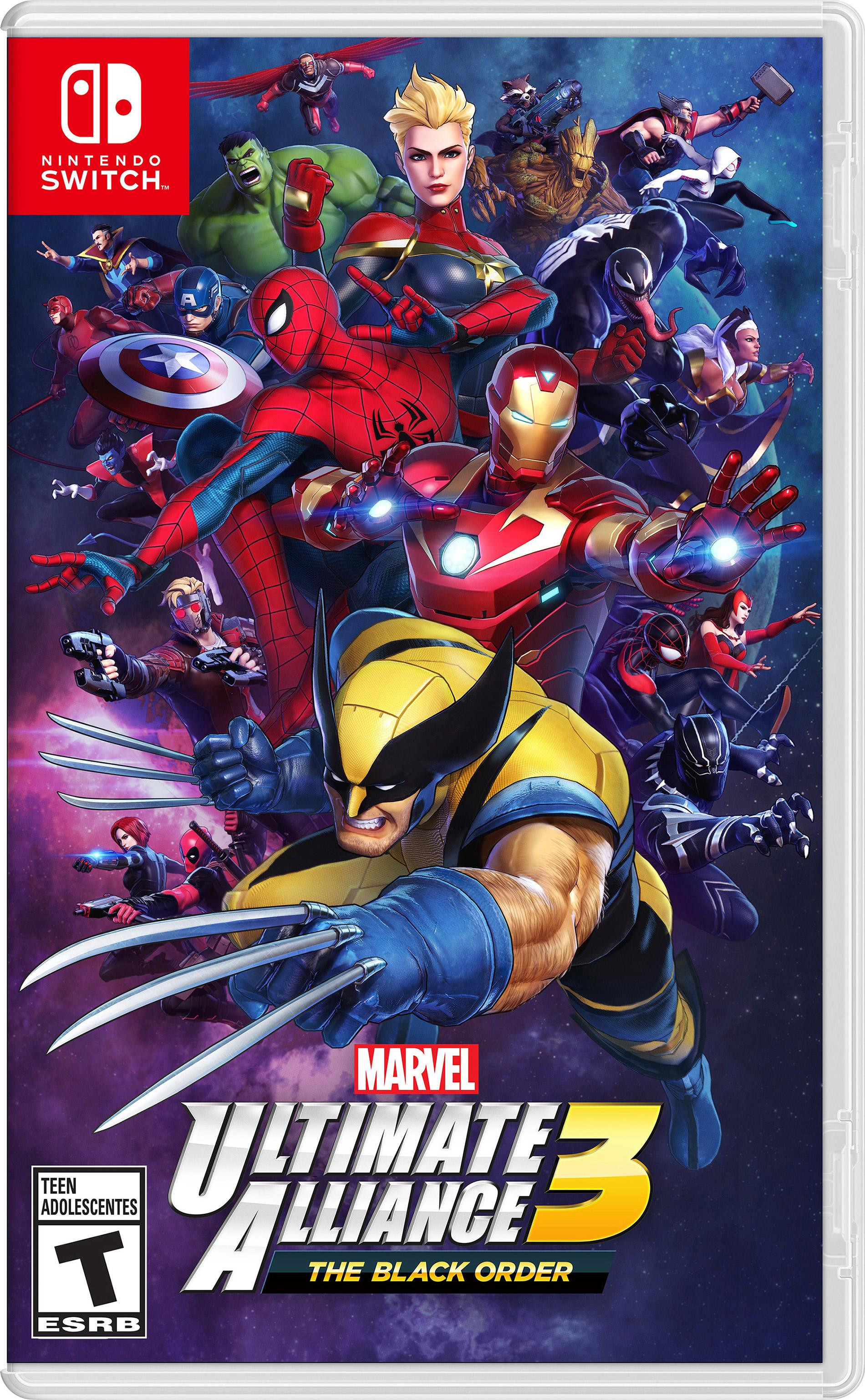 Marvel Ultimate Alliance 3 The Black Order Boxart