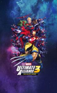 Marvel Ultimate Alliance 3 The Black Order Key Visual