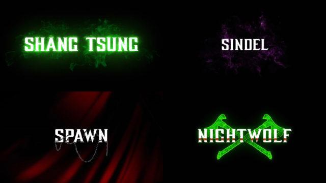 Mortal Kombat 11 Kombat Pack Characters