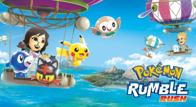 Pokemon Rumble Rush Key Art