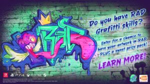RAD Graffiti Fan Art Contest