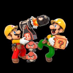 Super Mario Maker 2 Render