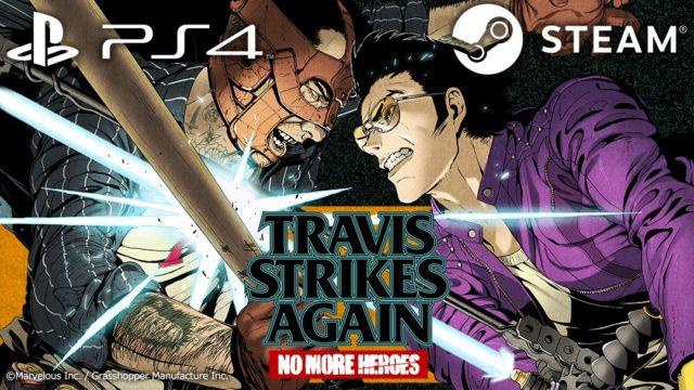 Travis Strikes Again No More Heroes PS4 Steam
