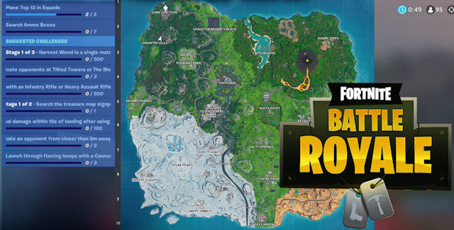 Fortnite Season 8 Week 10 Challenges Cheat Sheet
