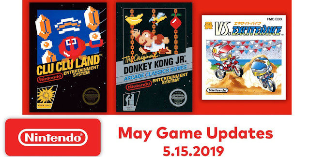 Nintendo Switch Online Games for May 2019 Lineup