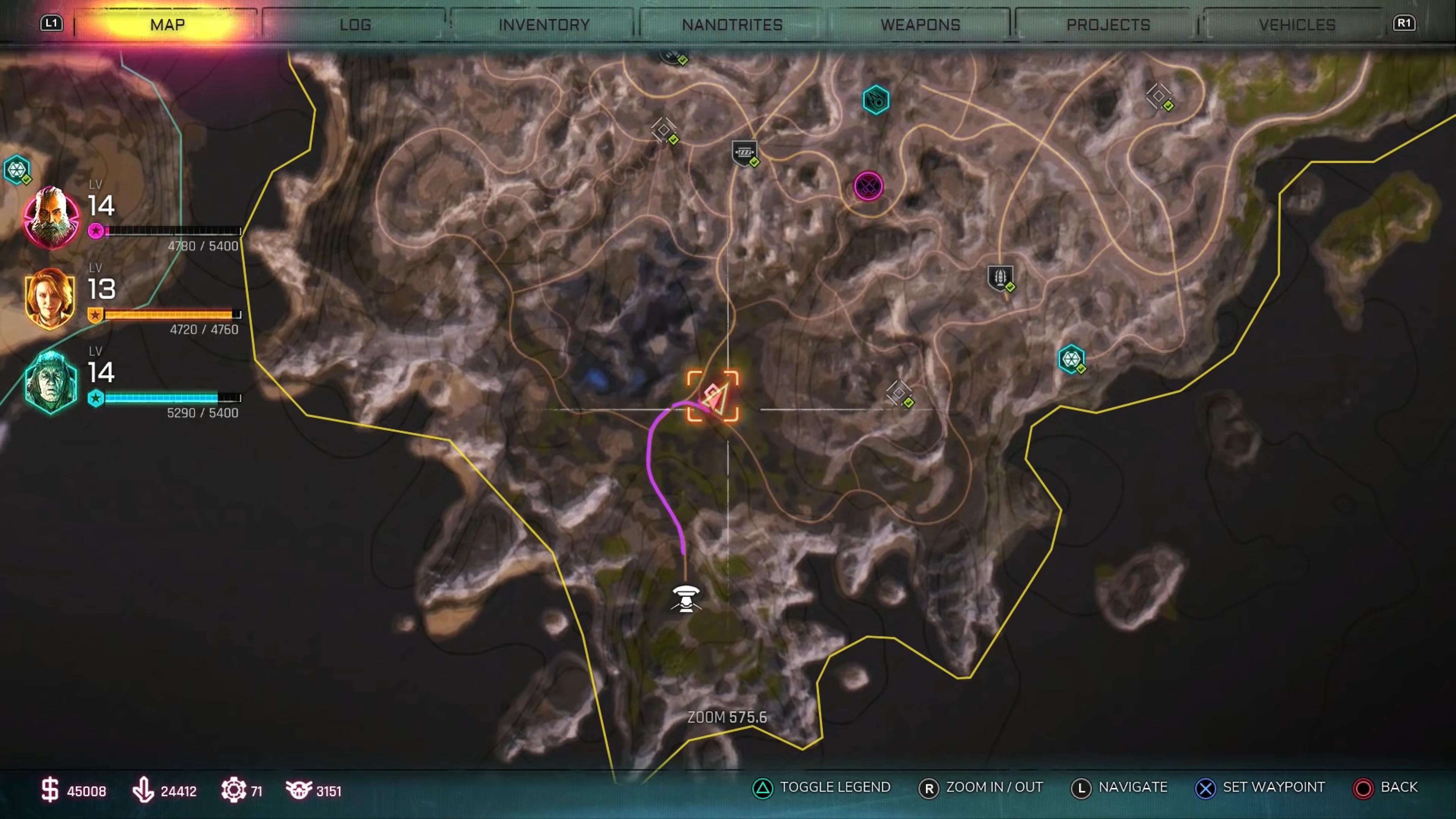 Rage 2 BFG 9000 Location Map