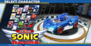 Team Sonic Racing Characters Select Screen