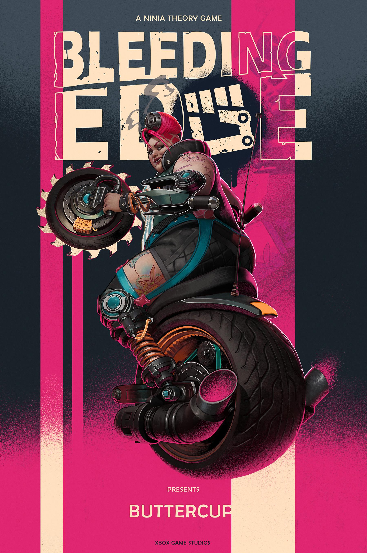 Bleeding Edge Character Poster 1