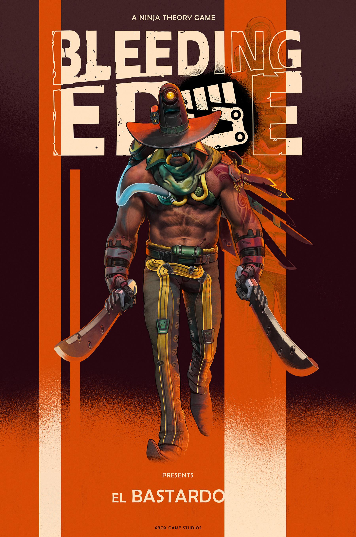 Bleeding Edge Character Poster 2