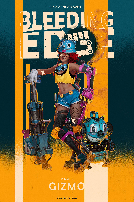 Bleeding Edge Character Poster 3