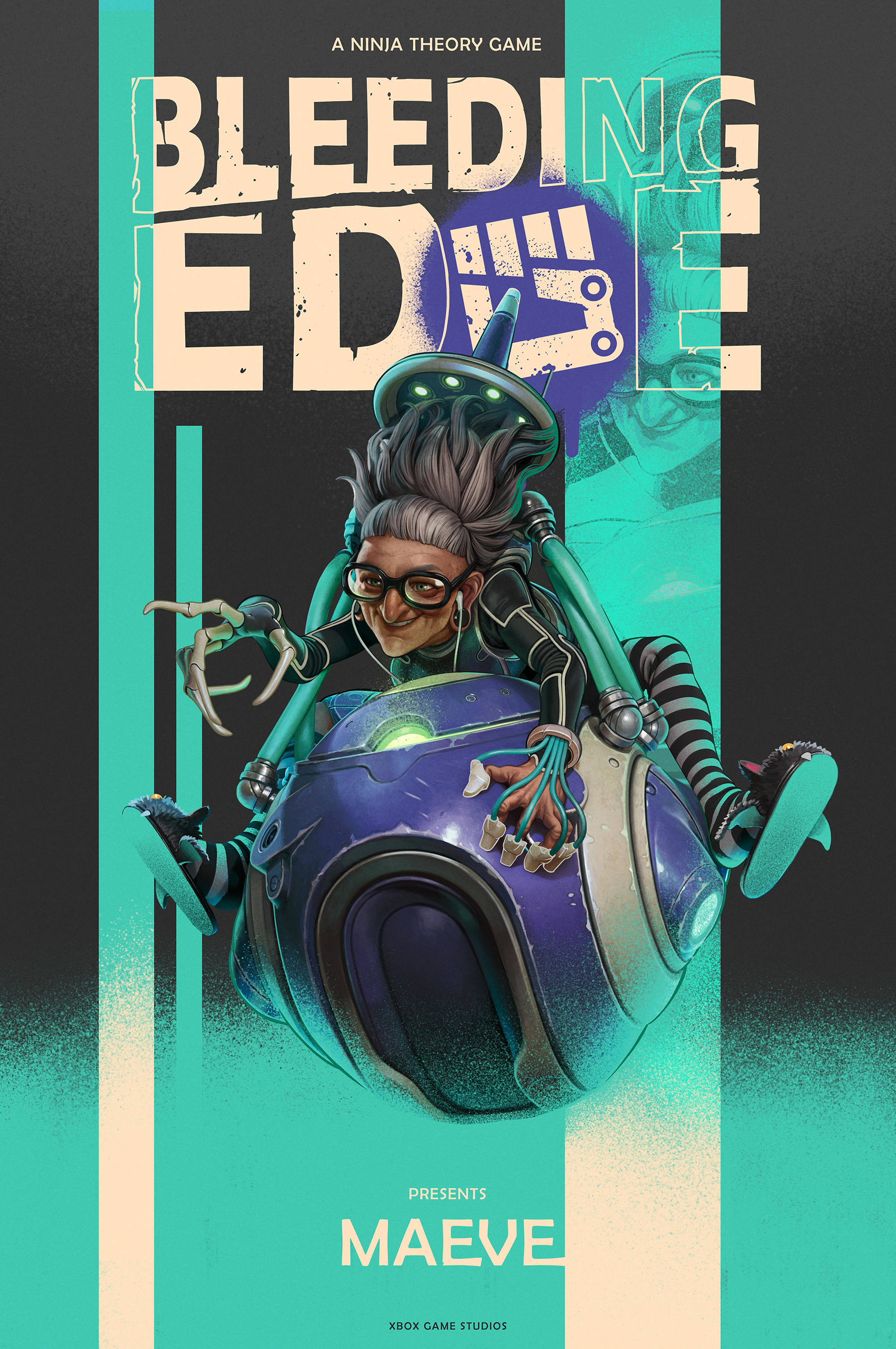 Bleeding Edge Character Poster 4