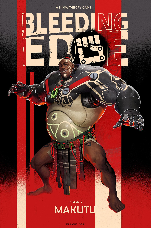 Bleeding Edge Character Poster 5