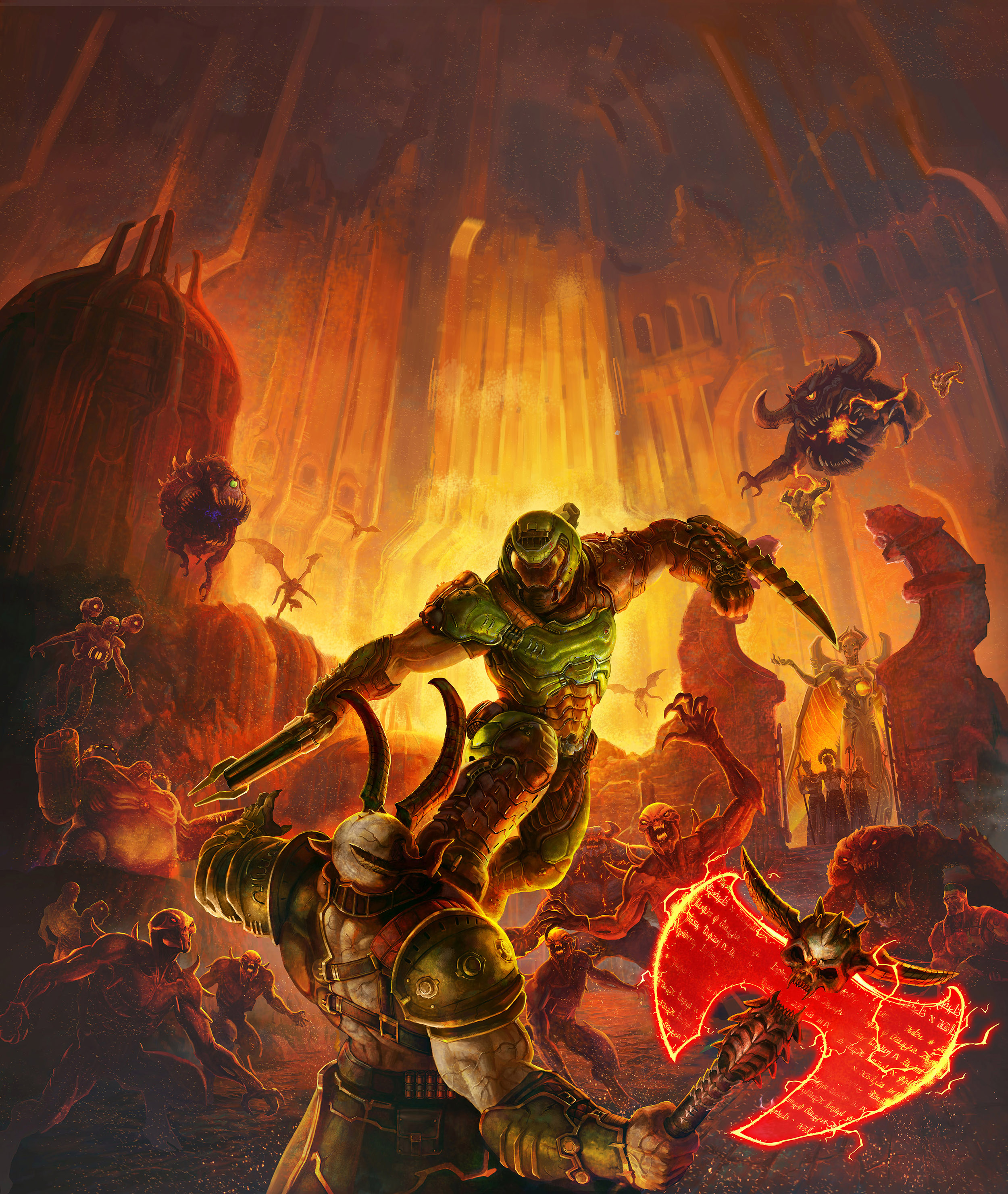 Doom Eternal Concept Art 2