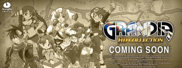 Grandia HD Collection Banner