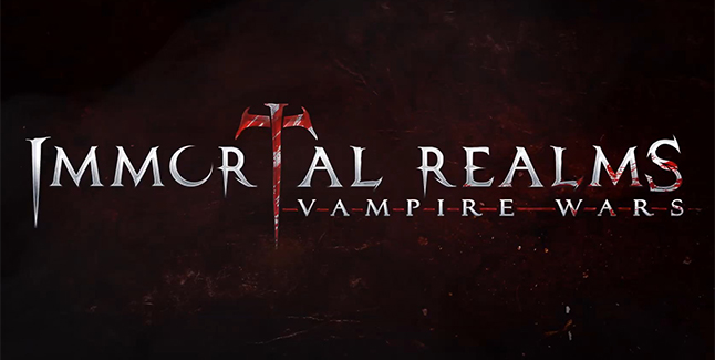 Immortal Realms Vampire Wars Banner