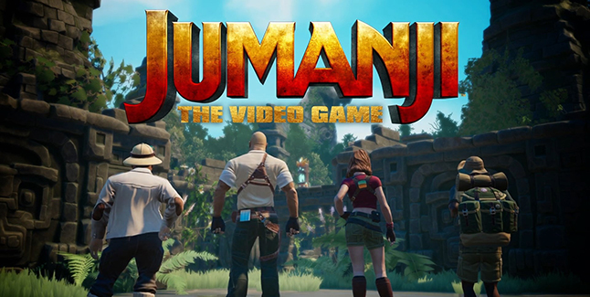 Jumanji The Video Game Banner Small