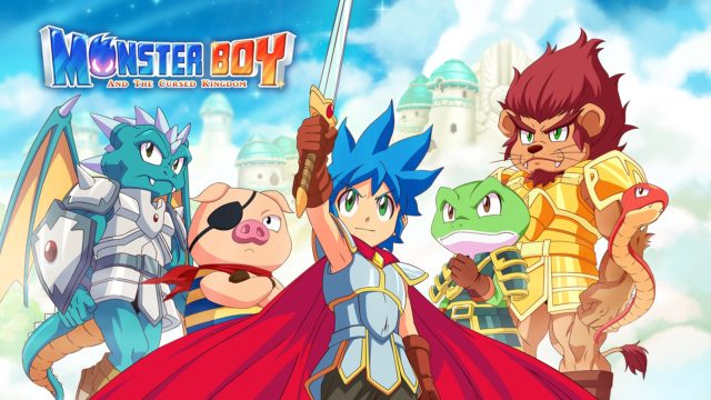 Monster Boy and the Cursed Kingdom Key Visual