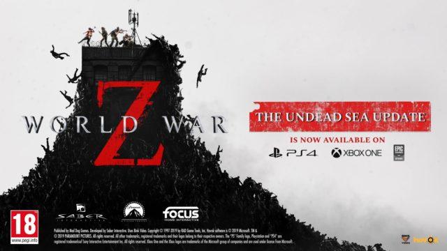 World War Z Undead Sea Banner