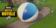 Fortnite Giant Beach Balls Locations Guide