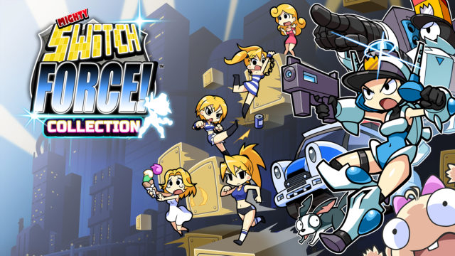 Mighty Switch Force! Collection Key Visual