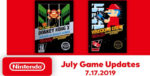 Nintendo Switch Online Games for July 2019 Lineup