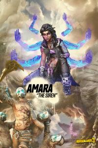 Borderlands 3 Amara the Siren Concept Art