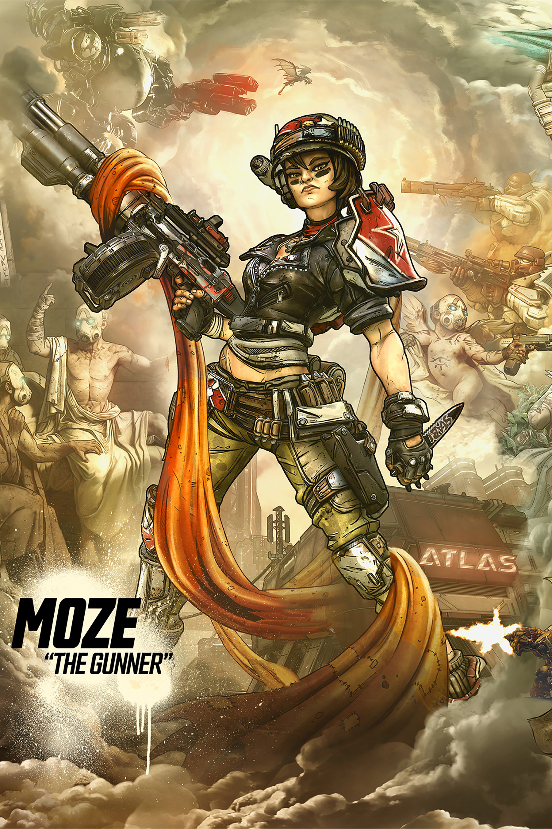 Borderlands 3 Moze the Gunner