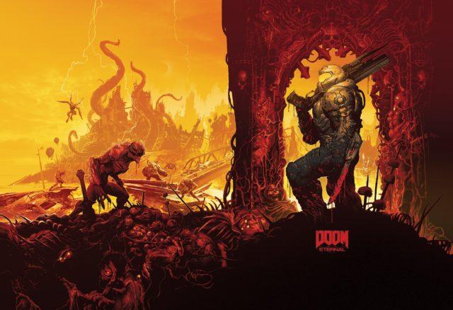 Doom Eternal Steelbook Art