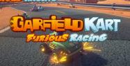 Garfield Kart Furious Racing Banner
