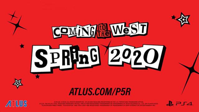 Persona 5 Royal Spring 2020