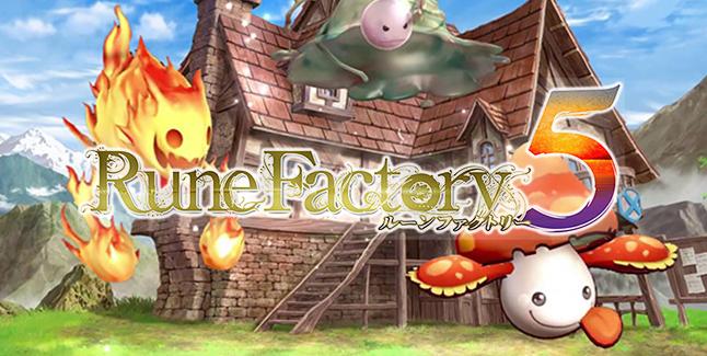Rune Factory 5 Banner