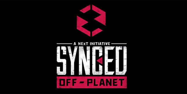 SYNCED Off-Planet Logo