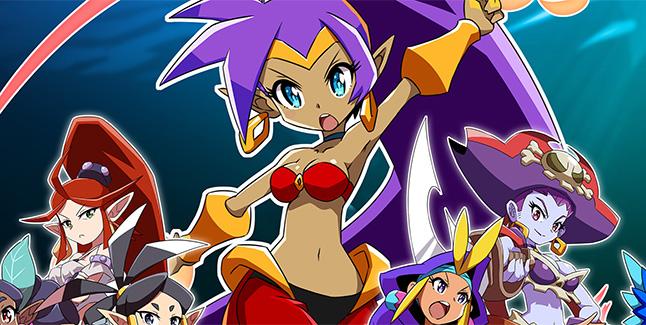 Shantae and the Seven Sirens Key Art Banner