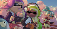 Splatoon Playing Switch Banner