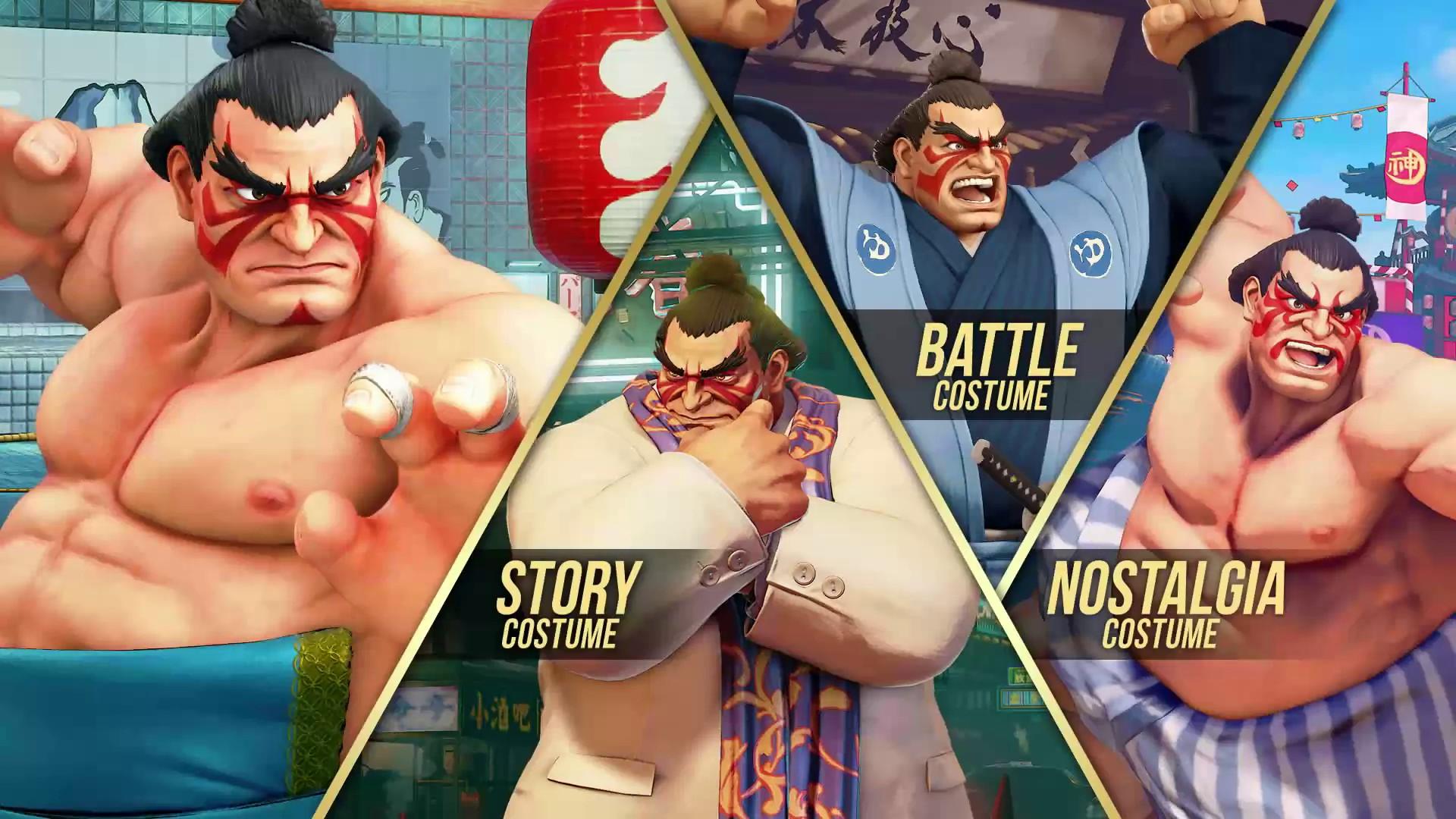 Street Fighter V DLC E-Honda