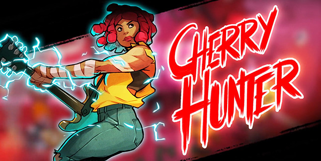 Streets of Rage 4 Cherry Hunter Banner