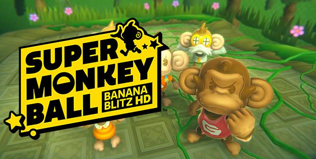 Super Monkey Ball Banana Blitz HD Banner
