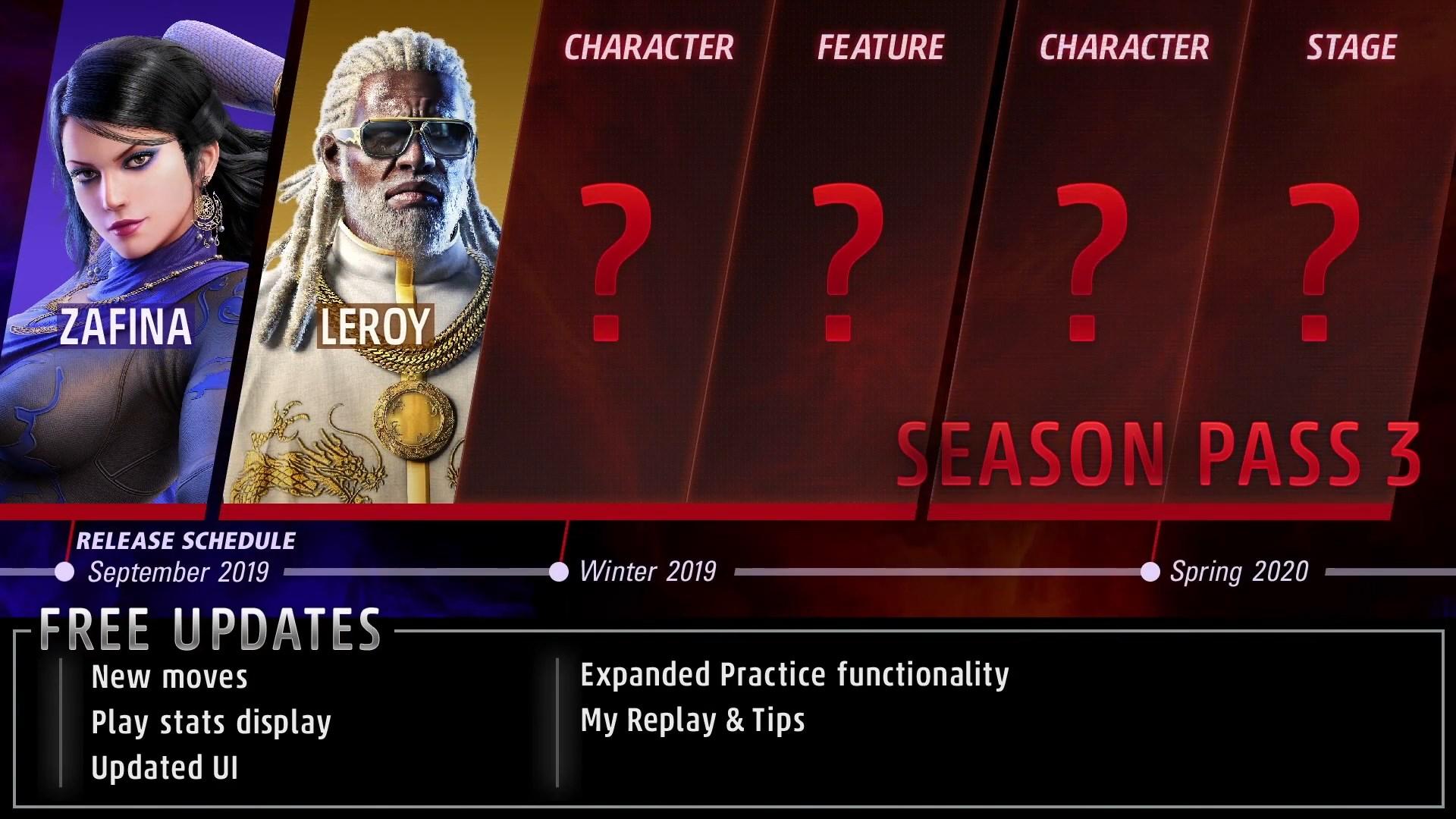 Tekken 7 Season Pass 3