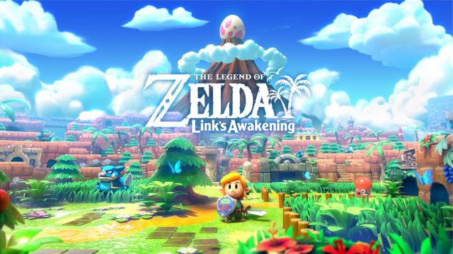 The Legend of Zelda Links Awakening Key Visual