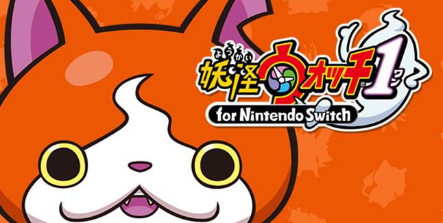 Yo-Kai Watch 1 Switch Banner