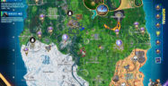 Fortnite Season 10 Week 3 Normal Challenges Map