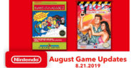 Nintendo Switch Online Games for August 2019 Lineup