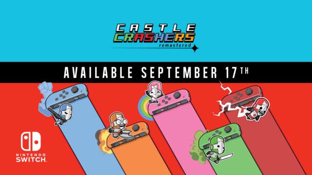 Castle Crashers Remastered Promo