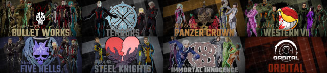 Daemon X Machina Characters
