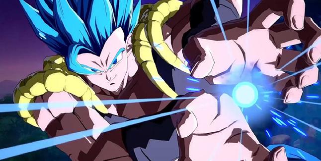 Dragon Ball FighterZ Gogeta Banner