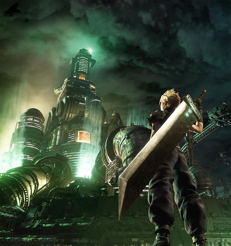 Final Fantasy VII Remake New Key Visual