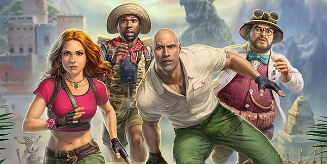 Jumanji The Video Game Banner