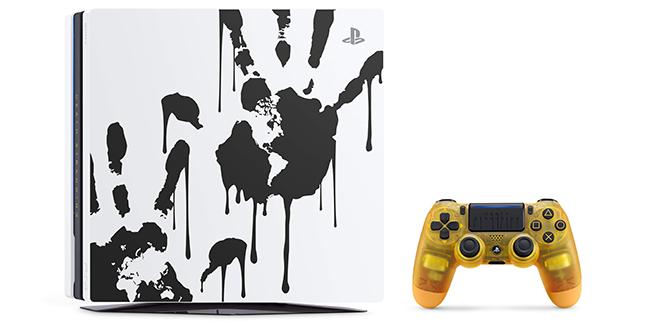 Limited Edition Death Stranding PS4 Pro Bundle Banner