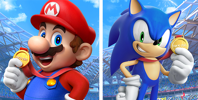 Mario & Sonic at the Olympic Games Tokyo 2020 Banner